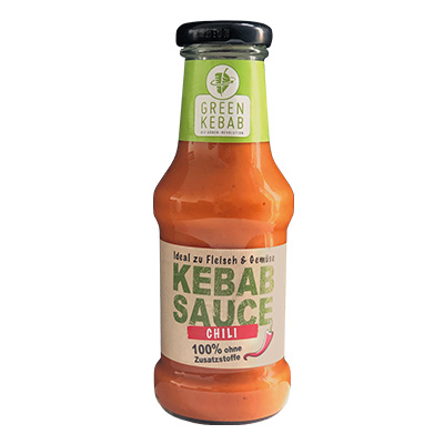 GREEN KEBAB CHILI SAUCE 250ml Glas
