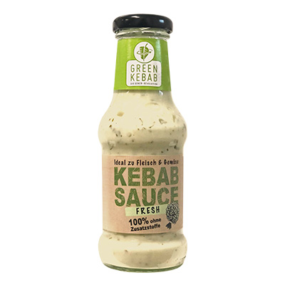GREEN KEBAB FRESH SAUCE 250ml Glas